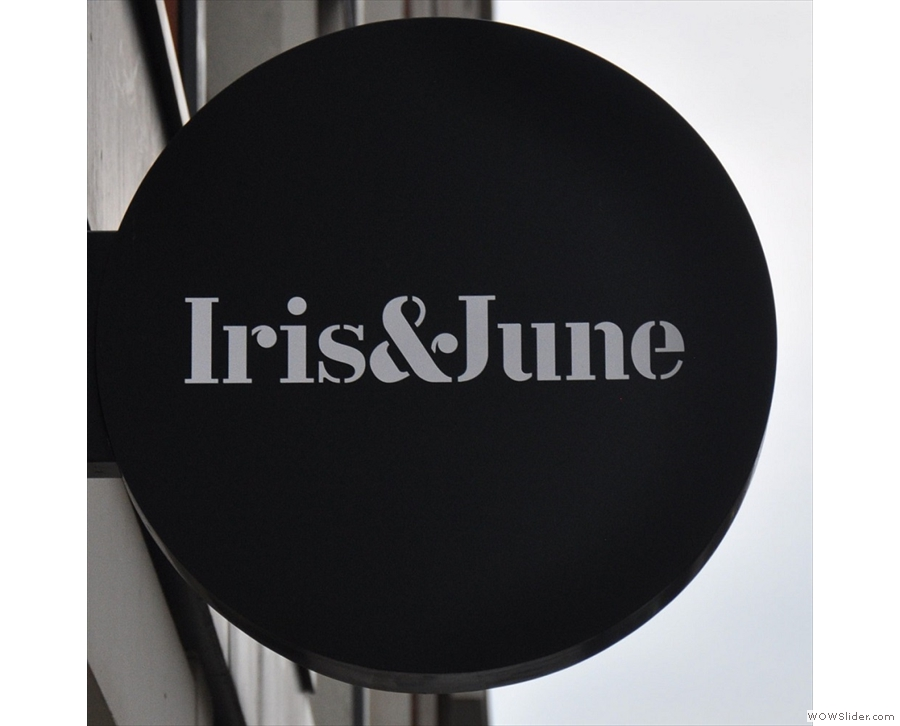 Iris & June, bringing much-needed speciality coffee to the area around Victoria Station.