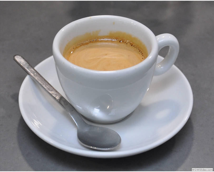 Store Street Espresso, another one located a few mintue's walk from Padddington Station.