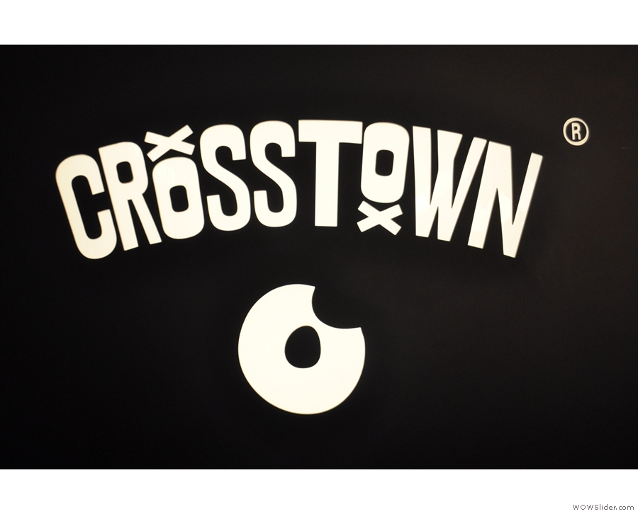 Talking of not needing to say more, Crosstown Doughnuts has its own coffee shop!