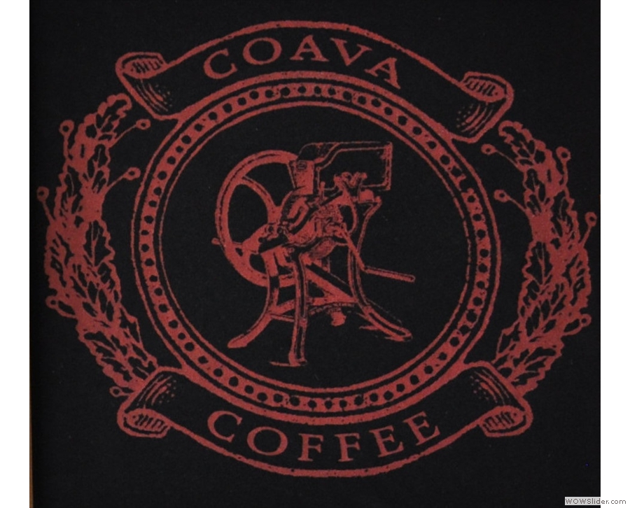 Coava Coffee Roasters, a coffee shop in an apartment building. I want to live there!