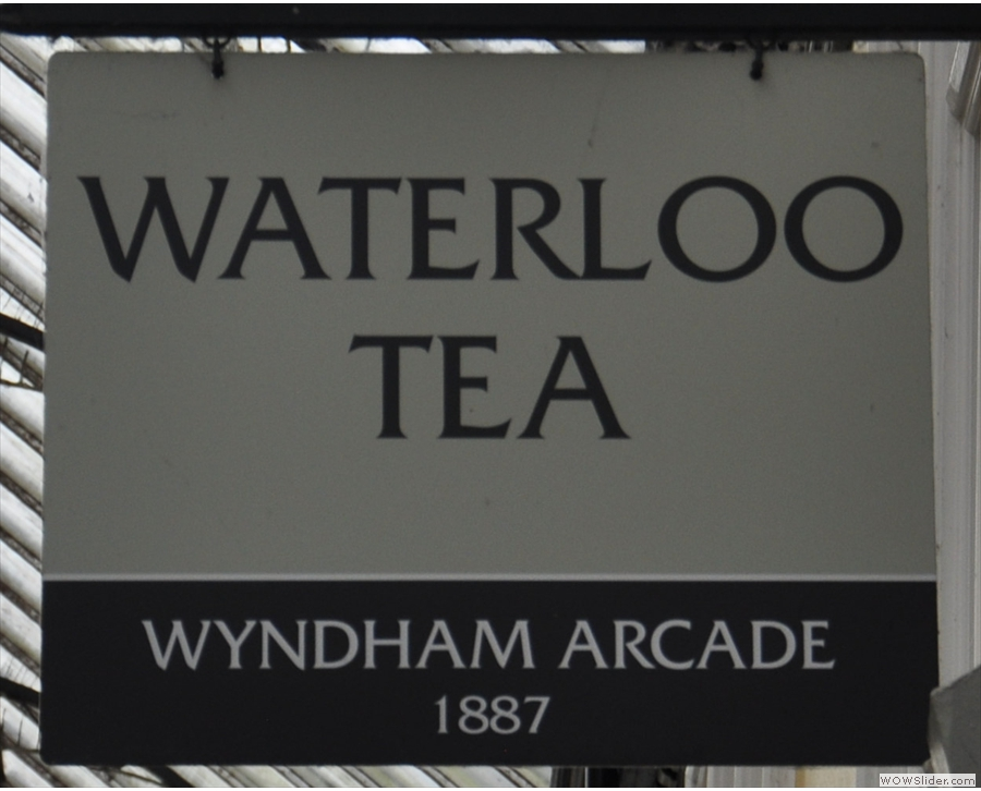 Wyndham Tea, where I learn to love baked eggs.