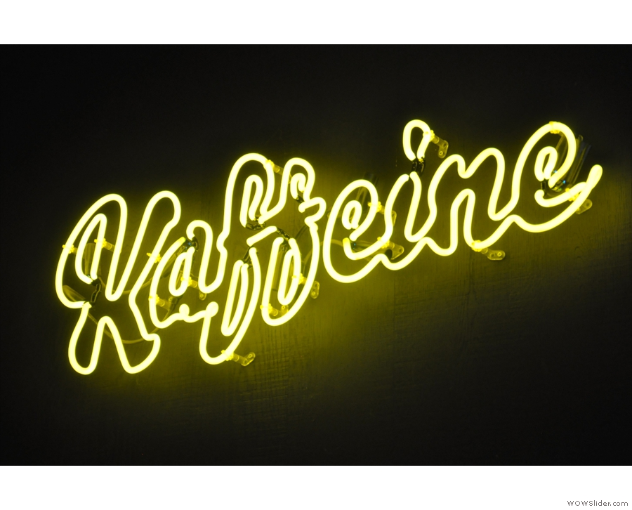 Kaffeine Eastcastle, recipient of the Brian's Coffee Spot Special Award.