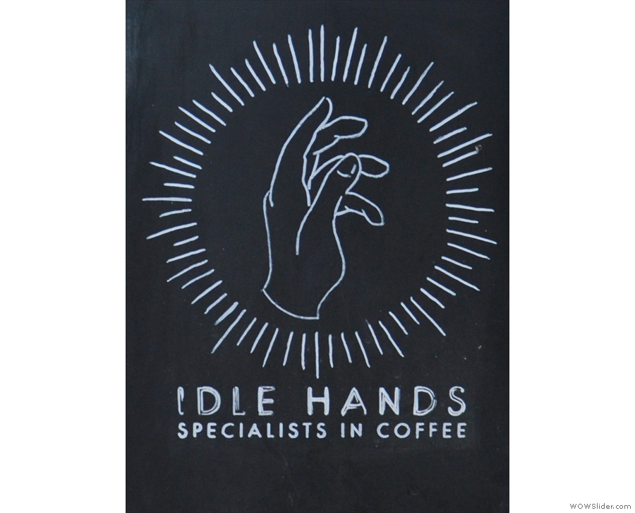 Idle Hands Pop-up, 2016's Most Passionate About Coffee.