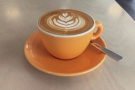 I began with a lovely flat white of the single-origin Ecuadorian from Butterworth & Son.