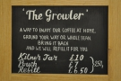 The Growler sounds like an excellent idea. Cuts down on packaging waste.