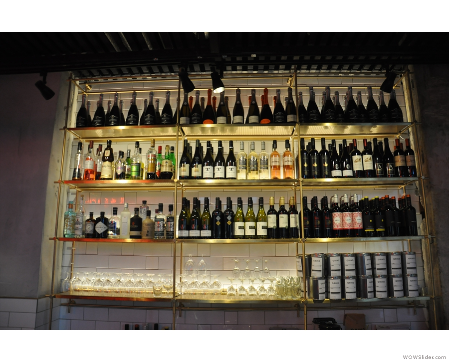 ... although this is also the bar part of the operation!
