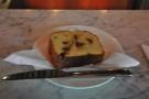 ... and my slice of Mandarin Cake.