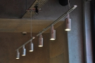 I also liked these rows of cylindrical spot lights.