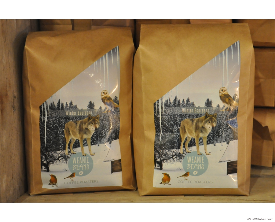 ... or its seasonal espresso blend. A third blend, Scout, has just been launched by the way.