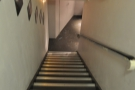 Why do stairs always look steeper when you are looking down them...?