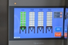 It's all controlled by this touchscreen panel which determines which silo is used.