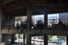 Right at the front there's another mezzanine level housing Sightglass offices.