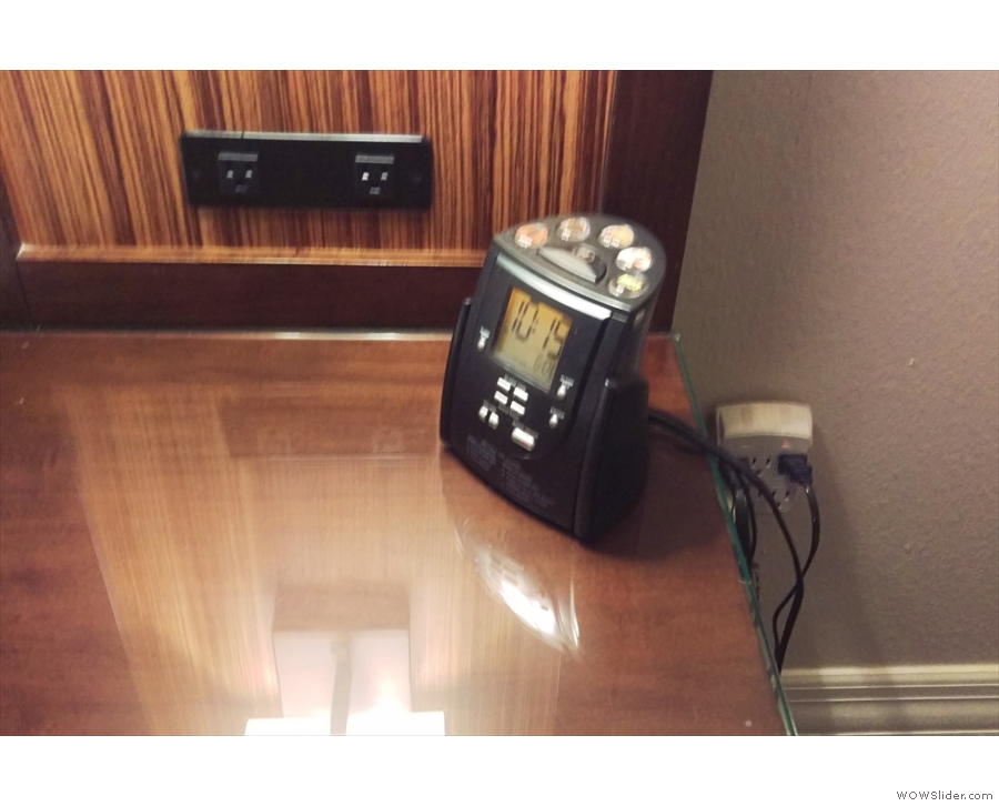 It had advanced features that other hotels should copy, such as power outlets by the bed.