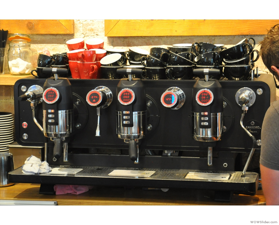 The heart of the operation, the threee-group Sanremo Opera...