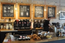 We want the right-hand side where you order and where all the coffee is made.