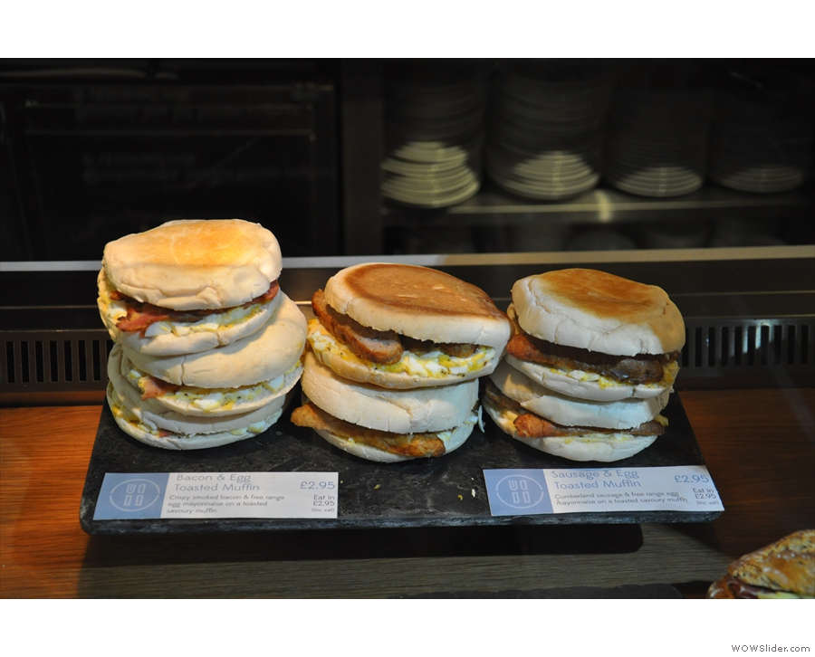 ... breakfast baps...