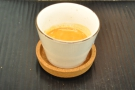 I, meanwhile, went for an espresso. Neat cup/saucer!