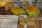 I can recommend the Kuih Bakar (or 'green' as I like to call it).