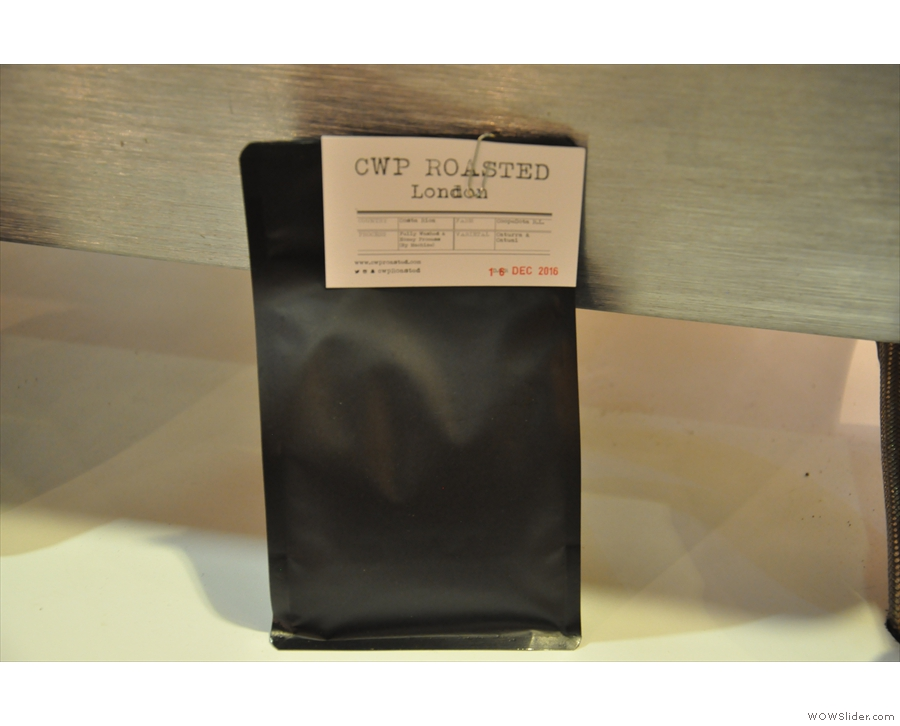 These days, the CoffeeWorks Project roasts all its own coffee.
