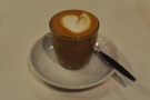 I tried the house coffee, a Costa Rican single-origin, as a piccolo...