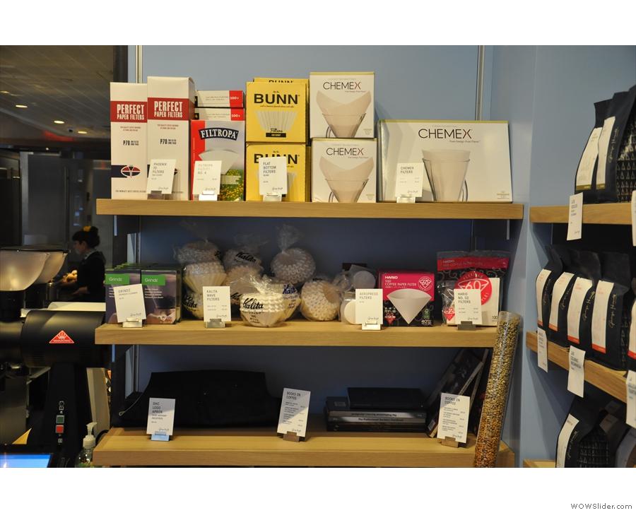 The Exploratorium also has equipment for sale.