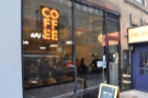 Café Grumpy, on W39th Street, in the heart of the Fashion District in the heart of NYC.