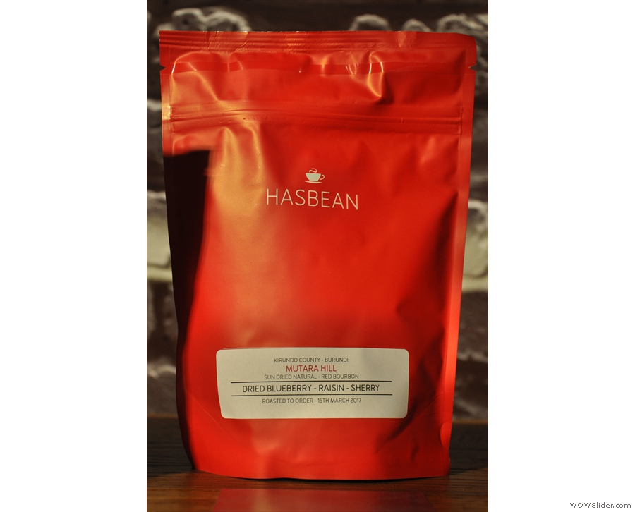 ... and a Mutara Hill natural from Burundi to round things off.