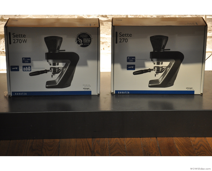 ... including the Baratza Sette grinders that [H]AND uses on the coffee bar.