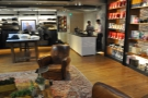 And here's the view back towards the coffee bar from the chairs.