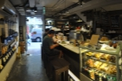 Barista Jam's a small place. This is the view looking back to the door from the counter's end.