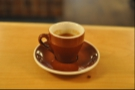 And here it is, my very fine espresso in an equally fine cup