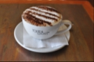 Alas, it was far better than the cappuccino I, with hindsight, wish I hadn't ordered!