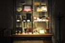There's also a display cabinet at the far end.
