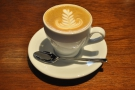 I returned the following day for a cappuccino made with a naturally-processed Geisha.