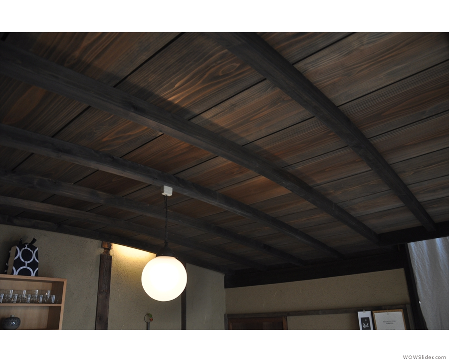 Talking of things I loved, the curved, wooden ceiling was pretty neat.