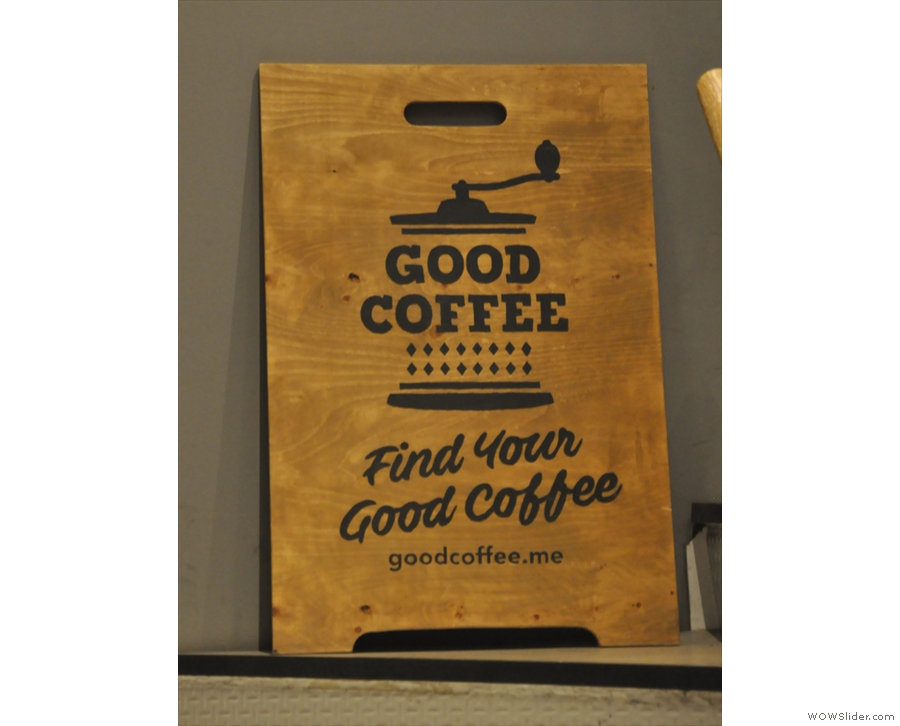 Instead it houses the training labs for Good Coffee, a sister company to The Local.