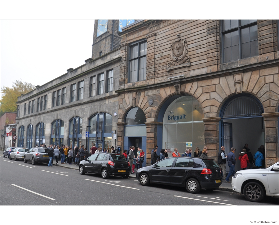 The second Glasgow Coffee Festival was so popular that they were queueing to get in!