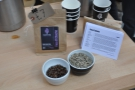 ... followed by the Colombian Finca El Chocho...