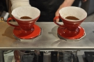 I'll leave you with a V60 pour-over masterclass from the Sarutahiko baristas.