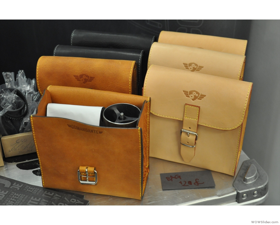 Finally, there are accessories, such as these lovely carry cases.