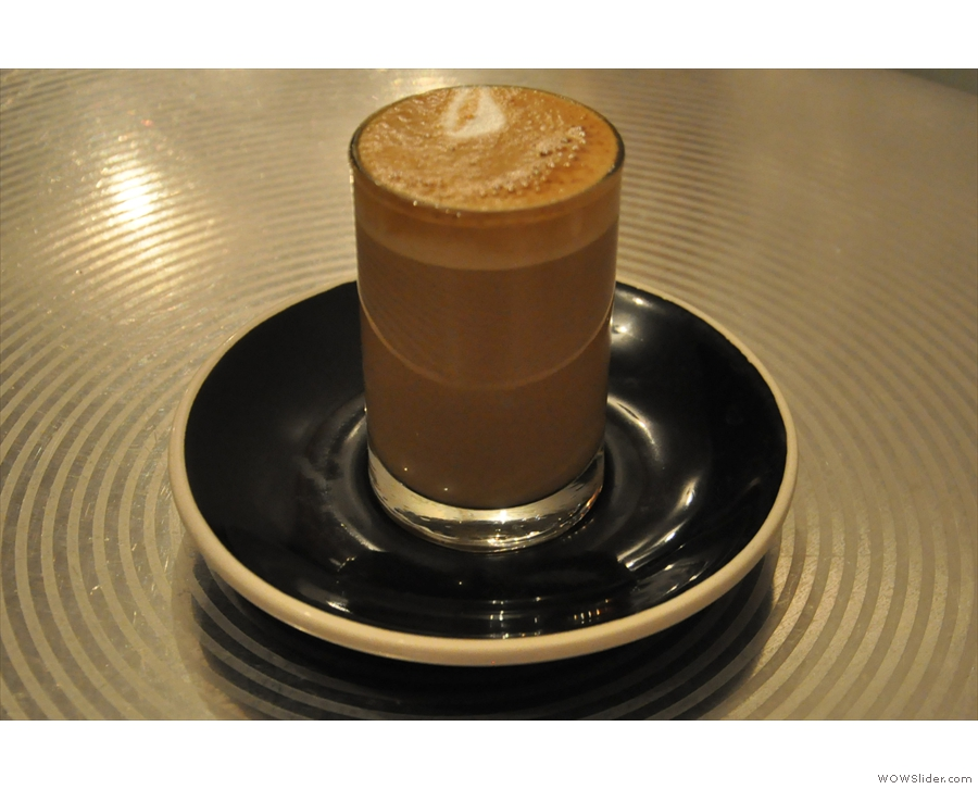 It was cortado Tuesday when I popped in, so I naturally had to have one.