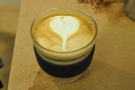 My latte art. All my own work, I should add.