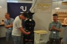 ... and the ever-popular roasting demonstrations.