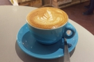 ... and, naturally enough, a flat white.