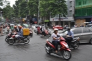 My abiding image of Vietnam: the traffic, seen here in Ho Chi Minh City (where I started).