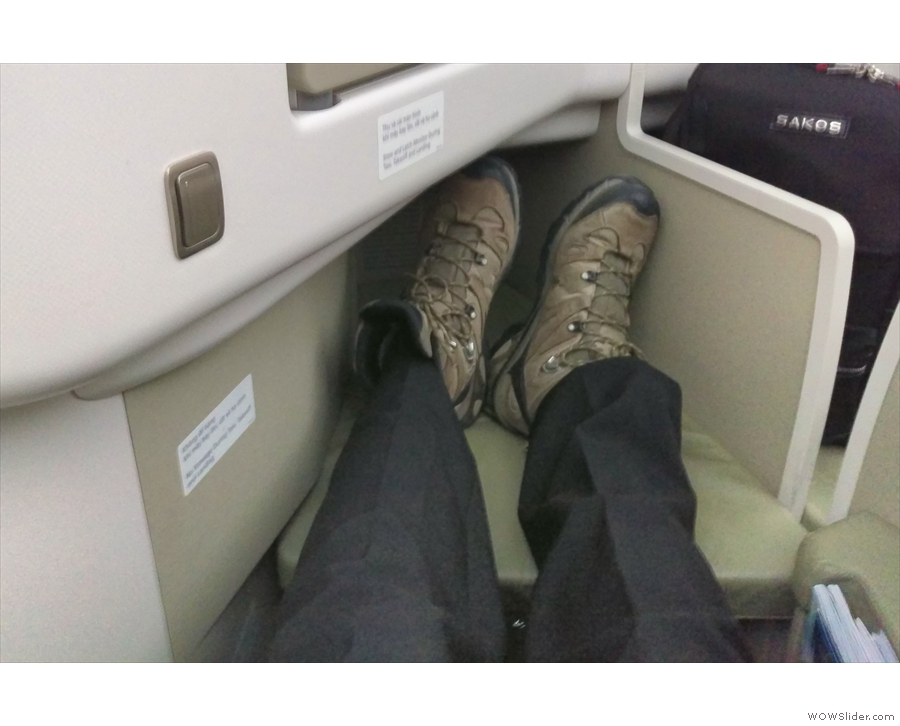 Now that's what I call leg-room!