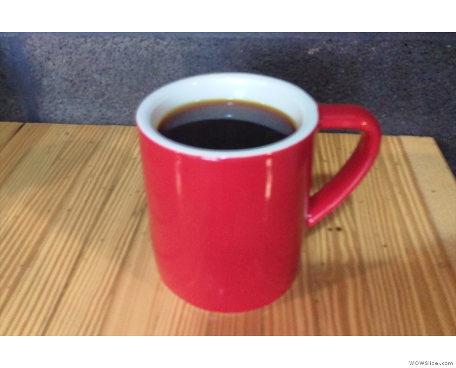 I followed this with the same coffee, the Finca Esparanza, as a V60.