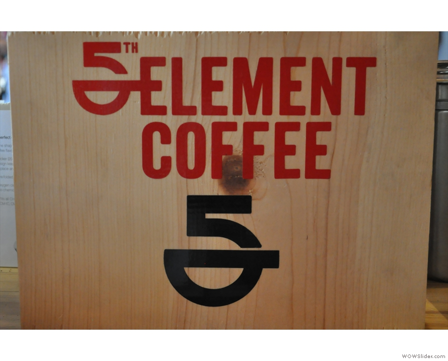 5th Element's branding was also fairly prevalent.