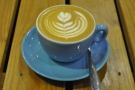 A beautiful flat white to start my day.