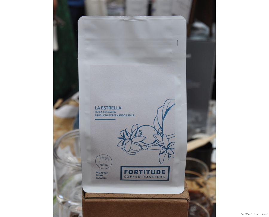 ... as was this Colombian from Edinburgh's Fortitude, both of which I sampled.